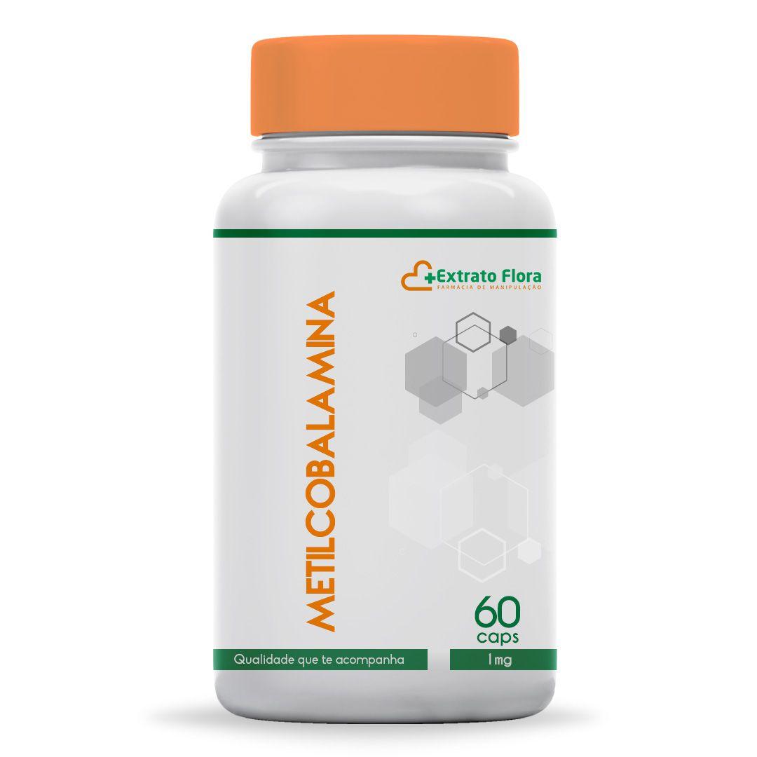 Metilcobalamina 1mg  60 Cápsulas (Vitamina B12)