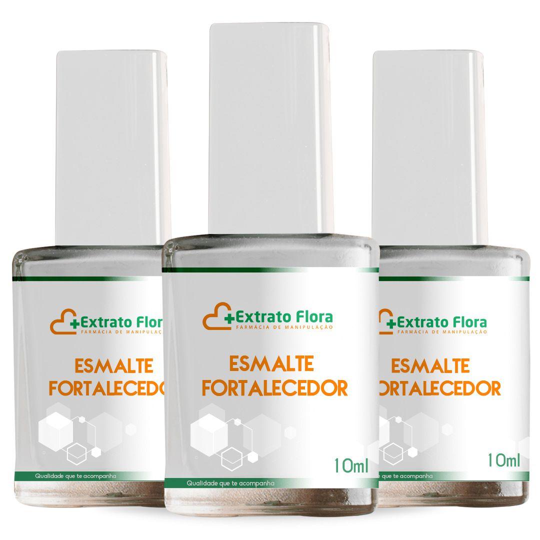 Minoxidil Esmalte Fortalecedor 3 unidades 10ml