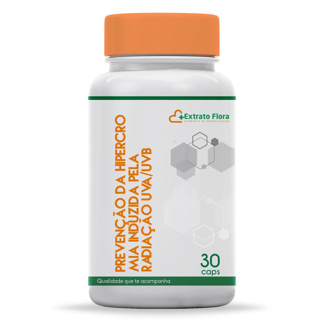Prevenção da Hipercromia Induzida pela Radiação UVA/UVB 30 Cápsulas