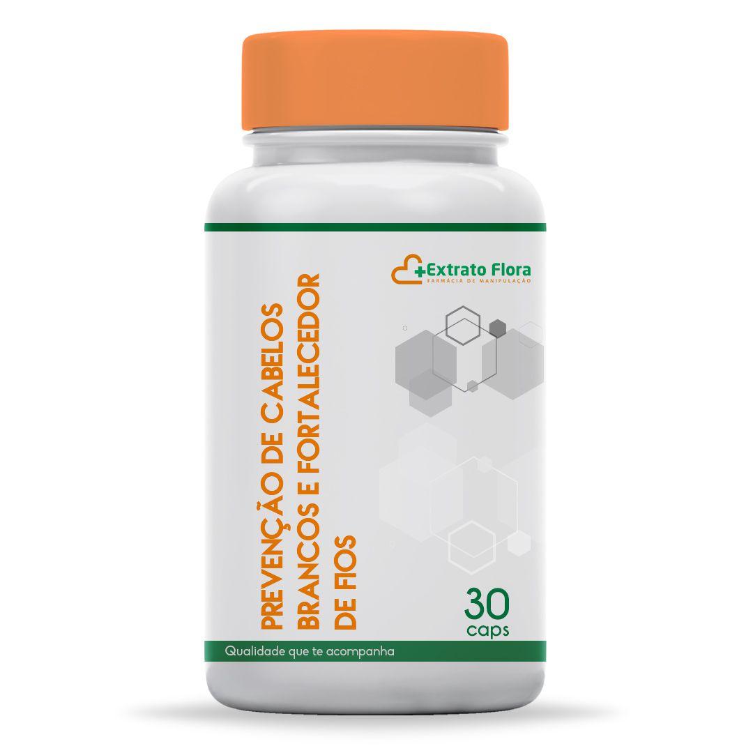 Prevenção de Cabelos Brancos e Fortalecedor de Fios - 30 Cápsulas