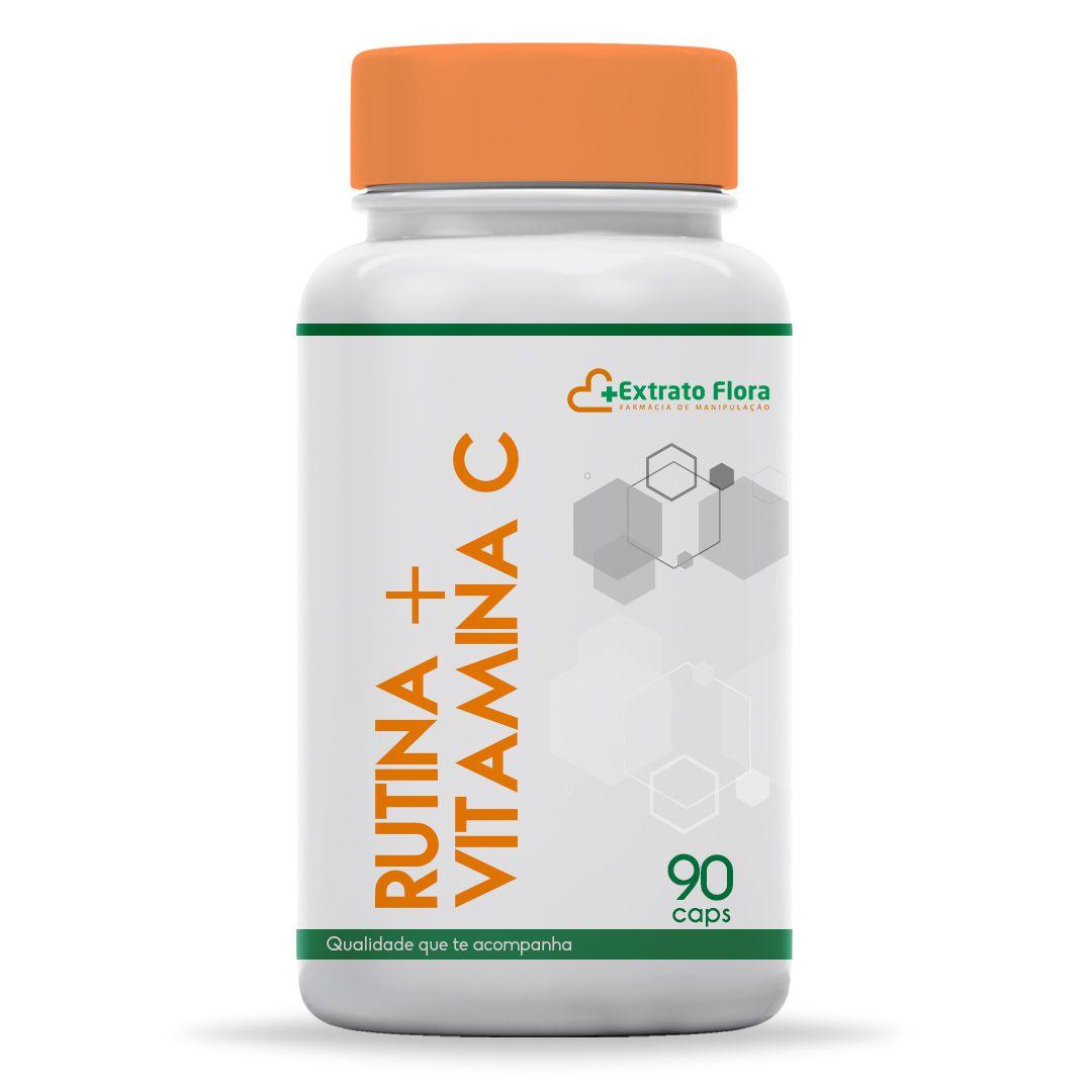 Rutina + Vitamina C 90 Cápsulas
