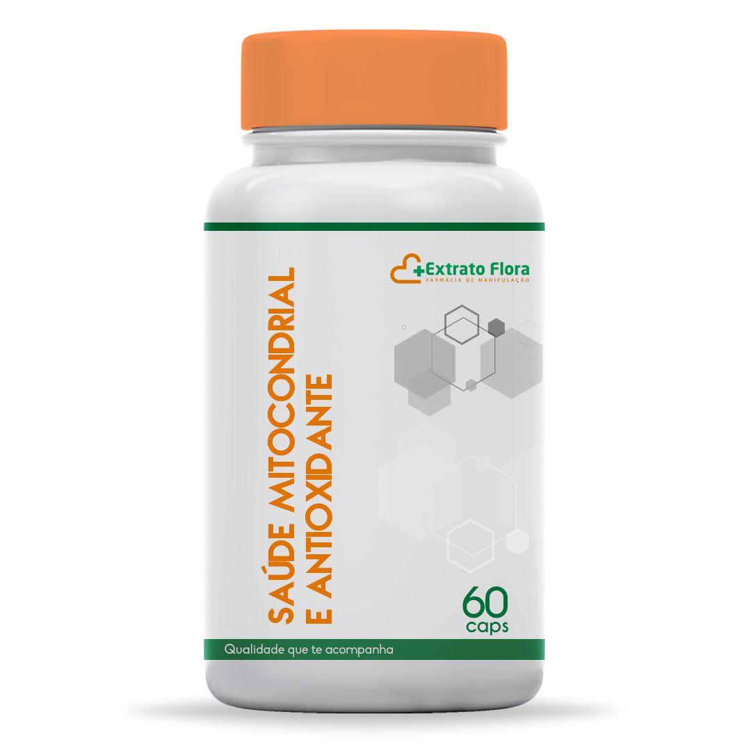 Saúde Mitocondrial e Antioxidante 60 Cáps  (Resveratrol + Coenzima Q10+ Quercetina)