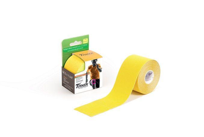 25c9cb8df5 Bandagem Adesiva Kinesio 5cm X 5m - Tmax - Amarelo - CIRÚRGICA MARINGÁ