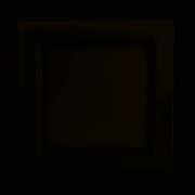 PLAFON DE EMBUTIR SLIM LED QUADRADO 6W 6500K LUZ BRANCA  - BRONZEARTE