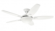VENTILADOR CONTEMPO 5 PÁS BRANCO - HUNTER FAN