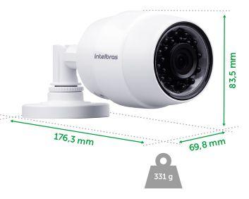 CAMERA SEGURANCA WIFI HD IC5 4565244 - INTELBRAS