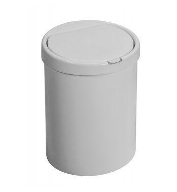 CESTO LIXO CLICK PLAST 7.5 LITROS BRANCO 42913 - PURIMAX
