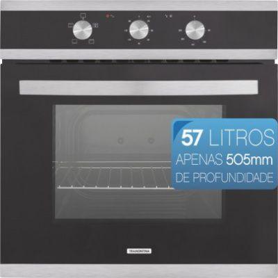 FORNO ELÉTRICO 57 LITROS GLASS B 60 F3 94865 220 - TRAMONTINA