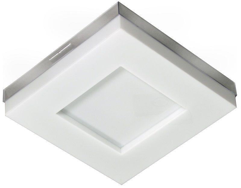 PLAFON LED ASTURIAS 16W 6500W BRANCO  - TUALUX