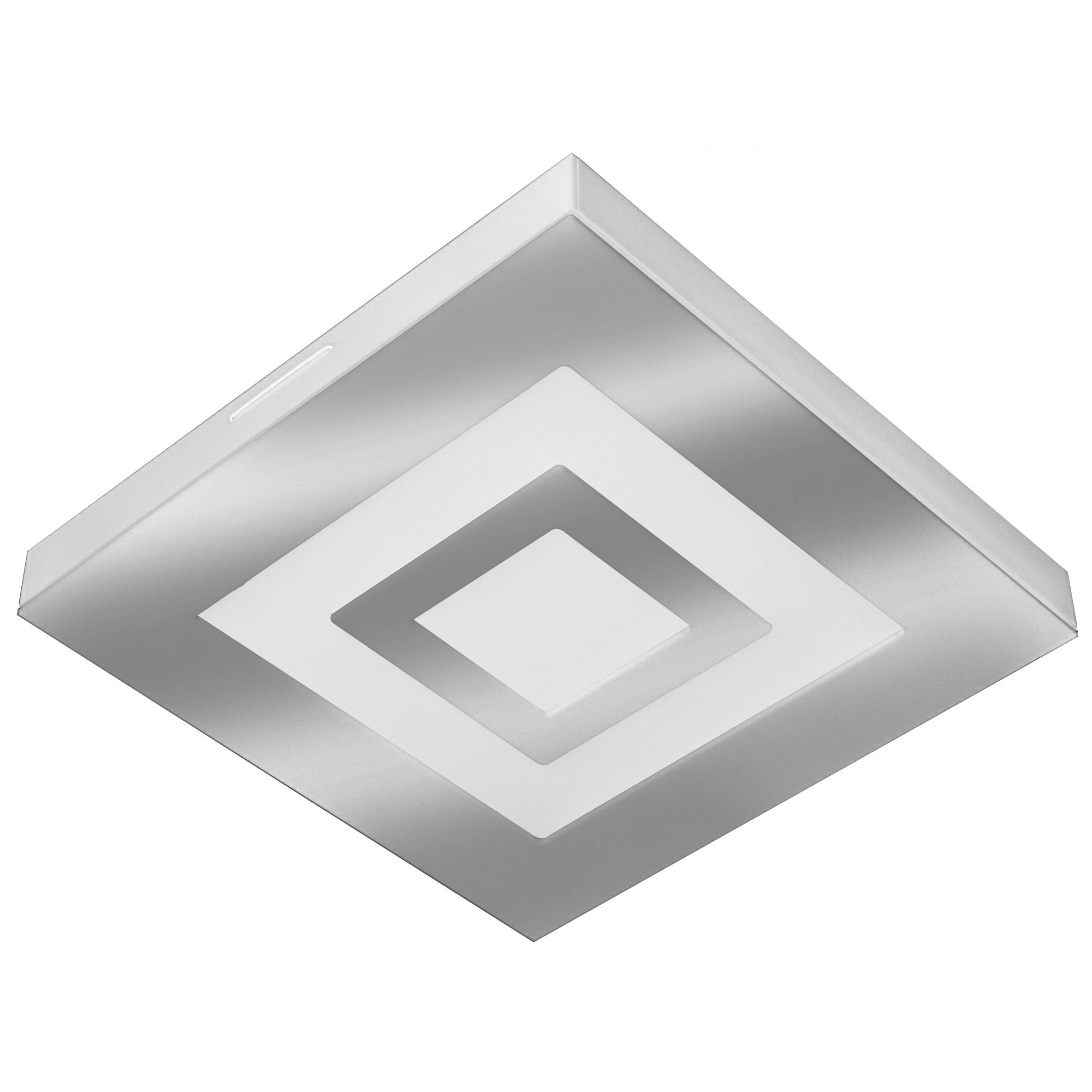 PLAFON LED ROMA 16W 6500W ESPELHADO - TUALUX