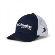 Boné Columbia PFG Snap Back Azul Marinho Proteção UV