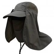 Boné EchoLife Legionário c/ Máscara Proteção UV - Verde Militar