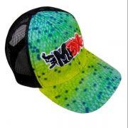 Boné Monster 3X Fit Estampada Verde