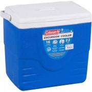Caixa Térmica Coleman 16 QT 15,1L 22 Cans Azul