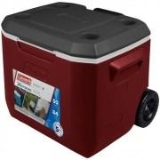 Caixa Térmica Cooler Coleman Xtreme 47,3L C/ Rodas - Vermelha