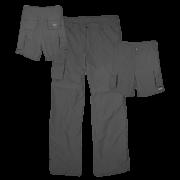 Calça Bermuda Ballyhoo Proteção UV - Cinza