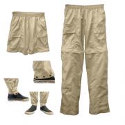 Calça Elástico Ballyhoo Proteção UPF 50+ - Areia