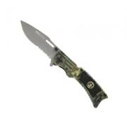 Canivete Tático Nautika Uzzit C/ Estojo de Metal - Camuflado