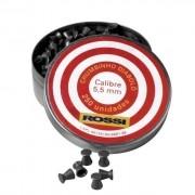 Chumbinho Rossi Diabolô 5,5mm - 250 Unidades