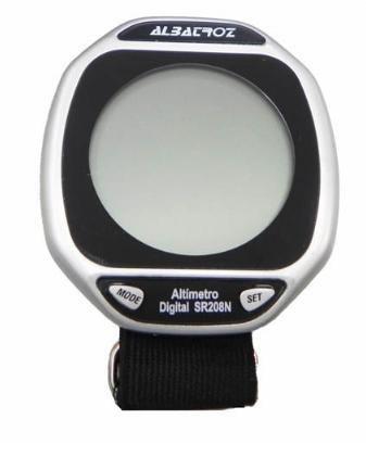 Altímetro Digital De Pulso Multifuncional Albatroz SR208N