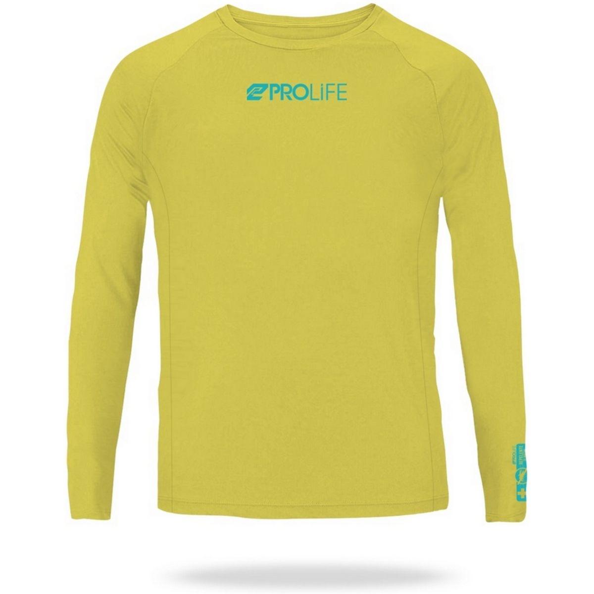 Blusa Infantil Prolife Repelente de Insetos e Proteção UV 50+ - Amarelo