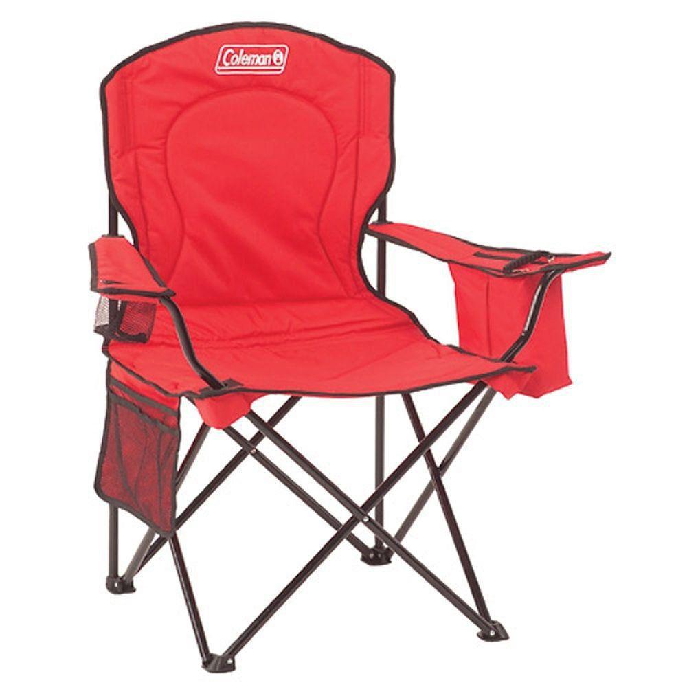 Cadeira Coleman Dobrável Com Cooler