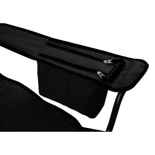 Cadeira Dobrável Coleman Com Cooler - Preta