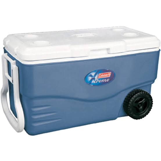 Caixa Térmica Cooler Coleman Xtreme 100 QT 95 L C/ Rodas
