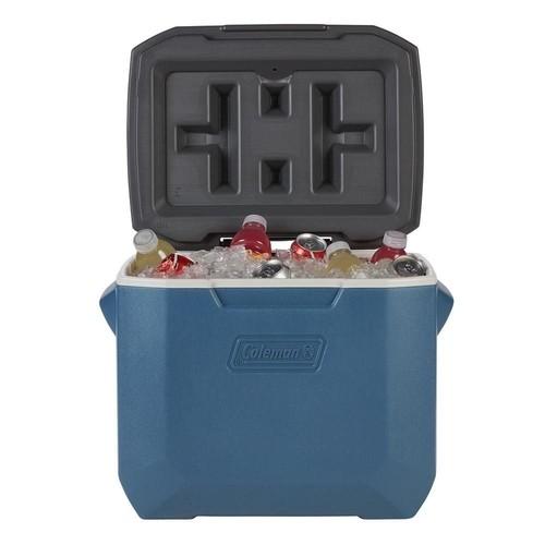 Caixa Térmica Cooler Coleman 47,3L C/ Rodas - Azul