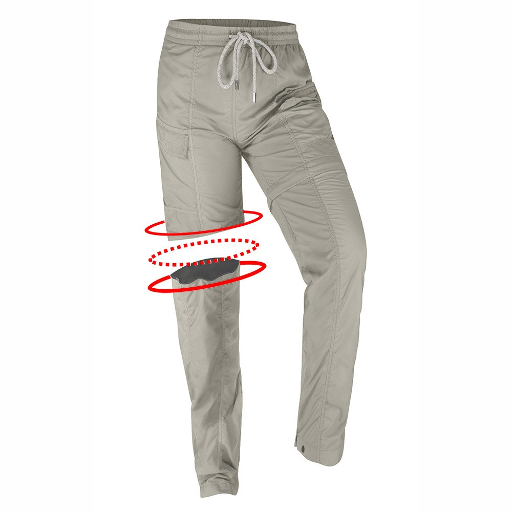 Calça Elástico Ballyhoo Proteção 50+ Feminina - Areia