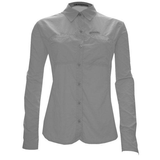 Camisa Guepardo Trek Fish Feminina Gelo
