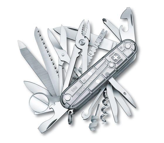 Canivete Victorinox Silver SwissChamp 1.6794 T7