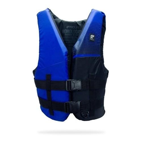 Colete Salva Vidas Homologado Marinha Prolife N1- Azul Royal