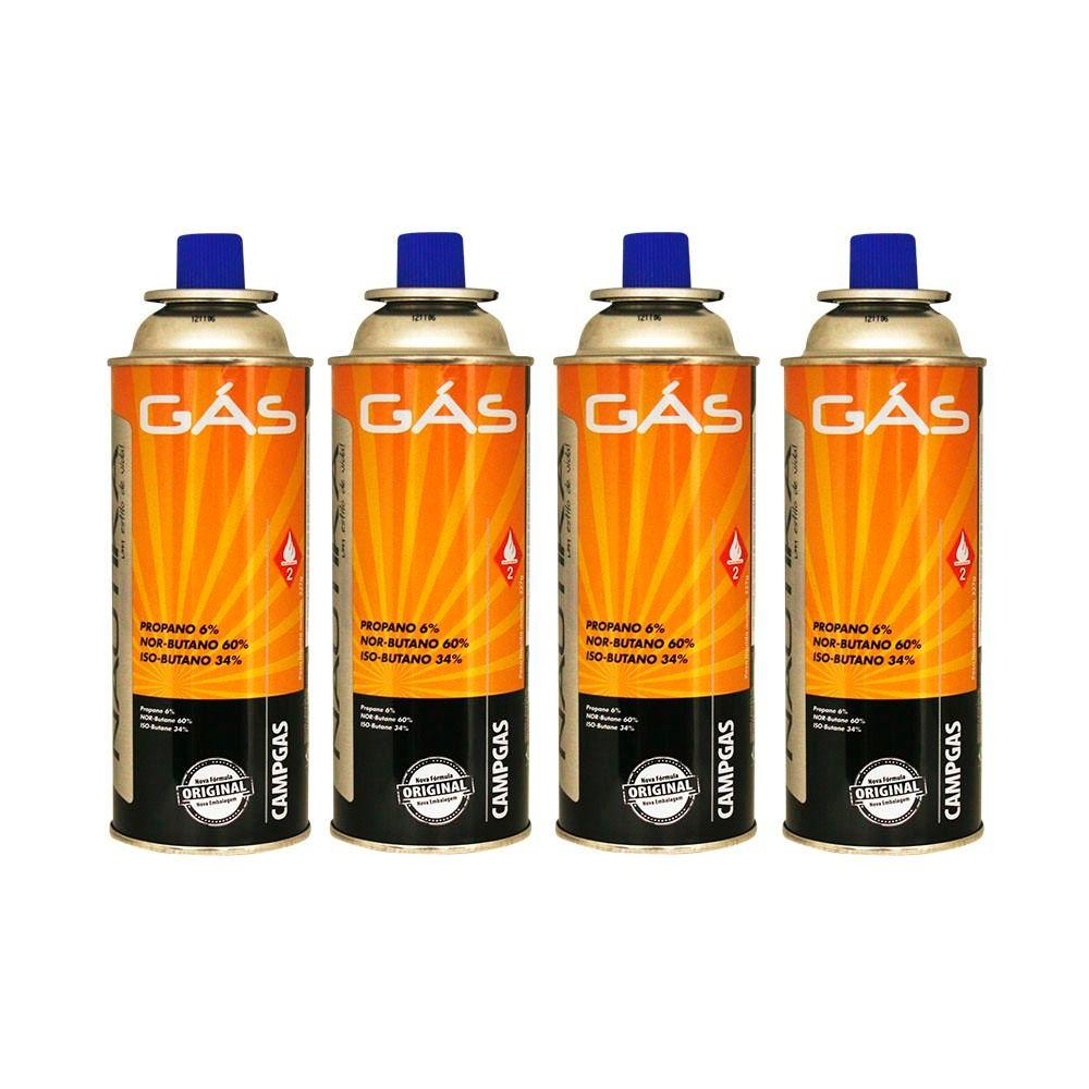 Gás NTK Campgas (4 PEÇAS)