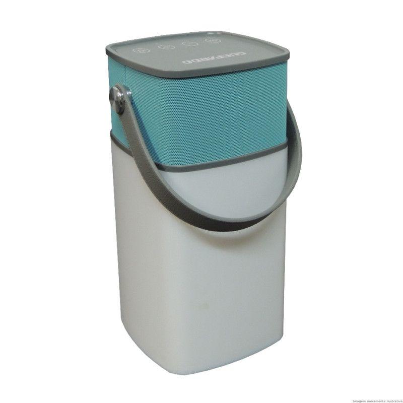 Lampião Guepardo Speaker Lamp Com caixa de som