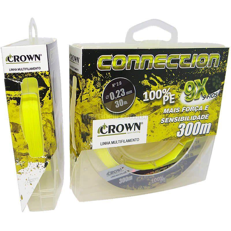 Linha Multifilamento Crown  Connection 300 metros