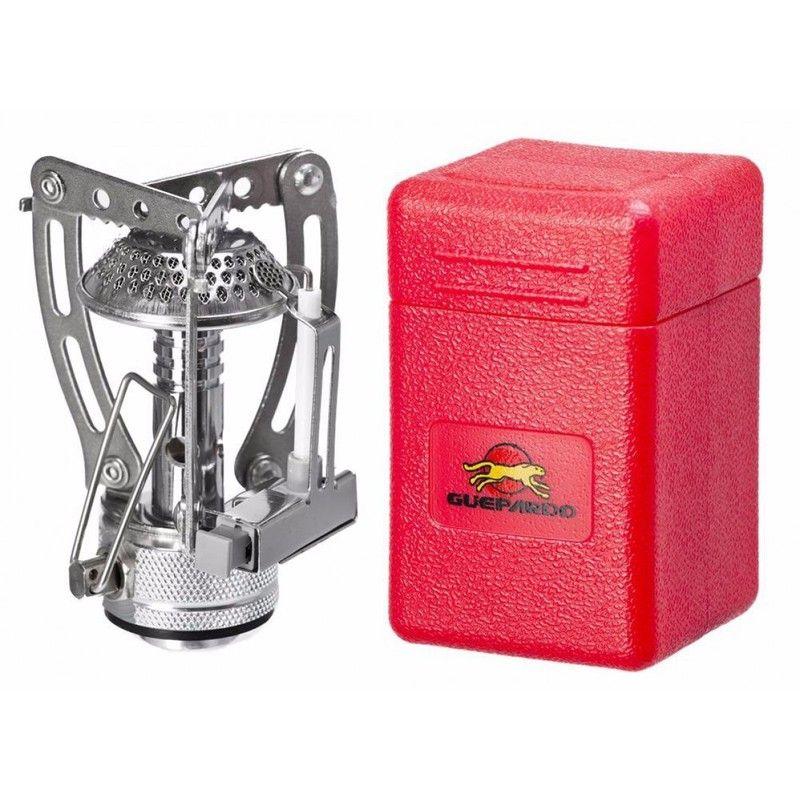 Mini Fogareiro Guepardo Portátil Inox Compact