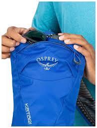 Mochila de Hidratação Osprey Katari 3 C/ Reservatório - Azul
