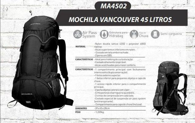 Mochila Guepardo Vancouver 45