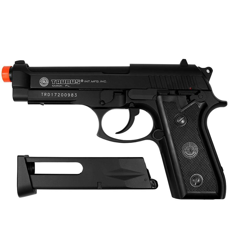 Pistola Airsoft Taurus  PT 92 CO2 Polímero Cybergun