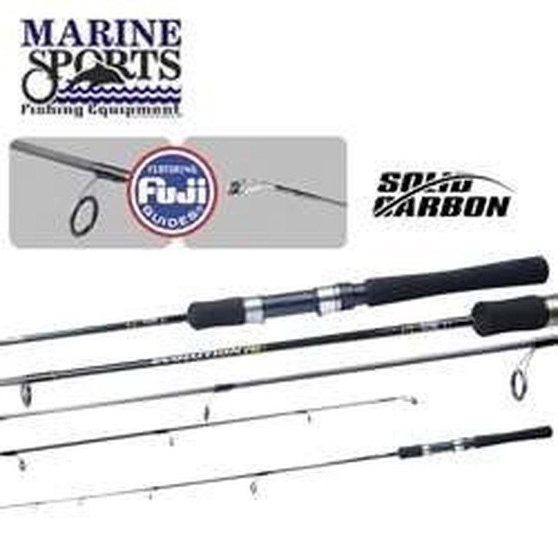 Vara de pesca Marine Sports - Evolution G3 -  - Carbono - Molinete