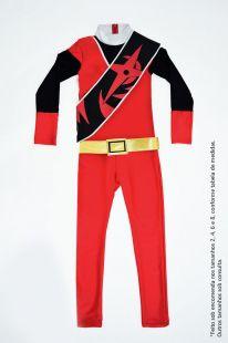 Power Rangers - Vermelho