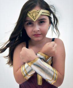 Tiara Mulher Maravilha Liga da Justiça
