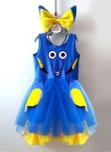 Vestido Procurando Dóry