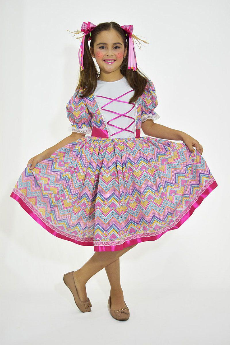 Vestido Caipirinha - Festa Junina 2019