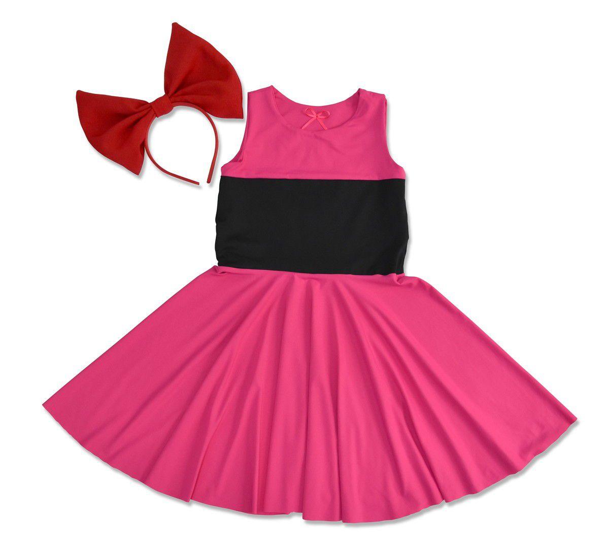Vestido Florzinha - As Meninas Superpoderosas