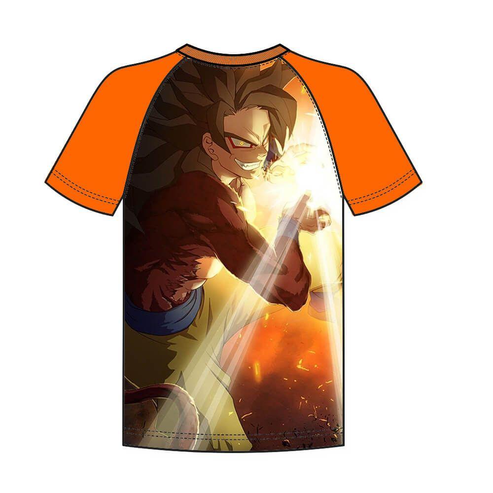 Camiseta Raglan Dragon Ball