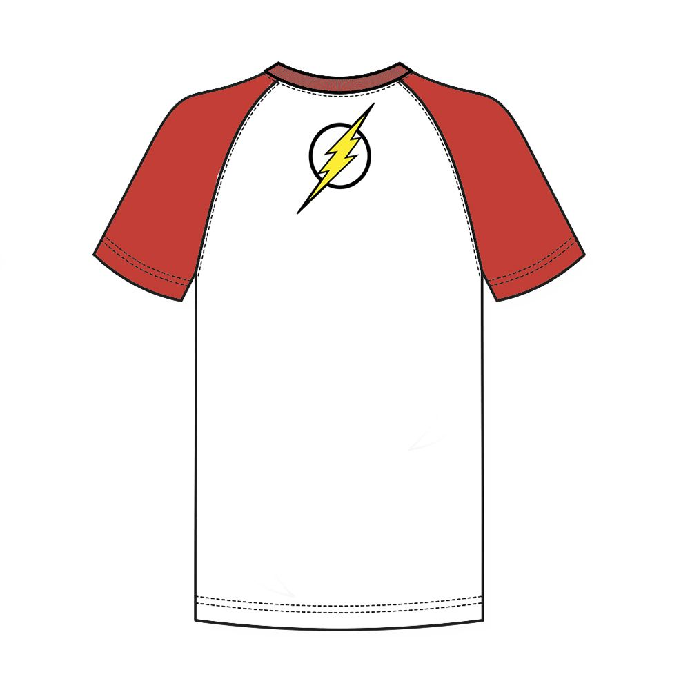 Camiseta Raglan Flash