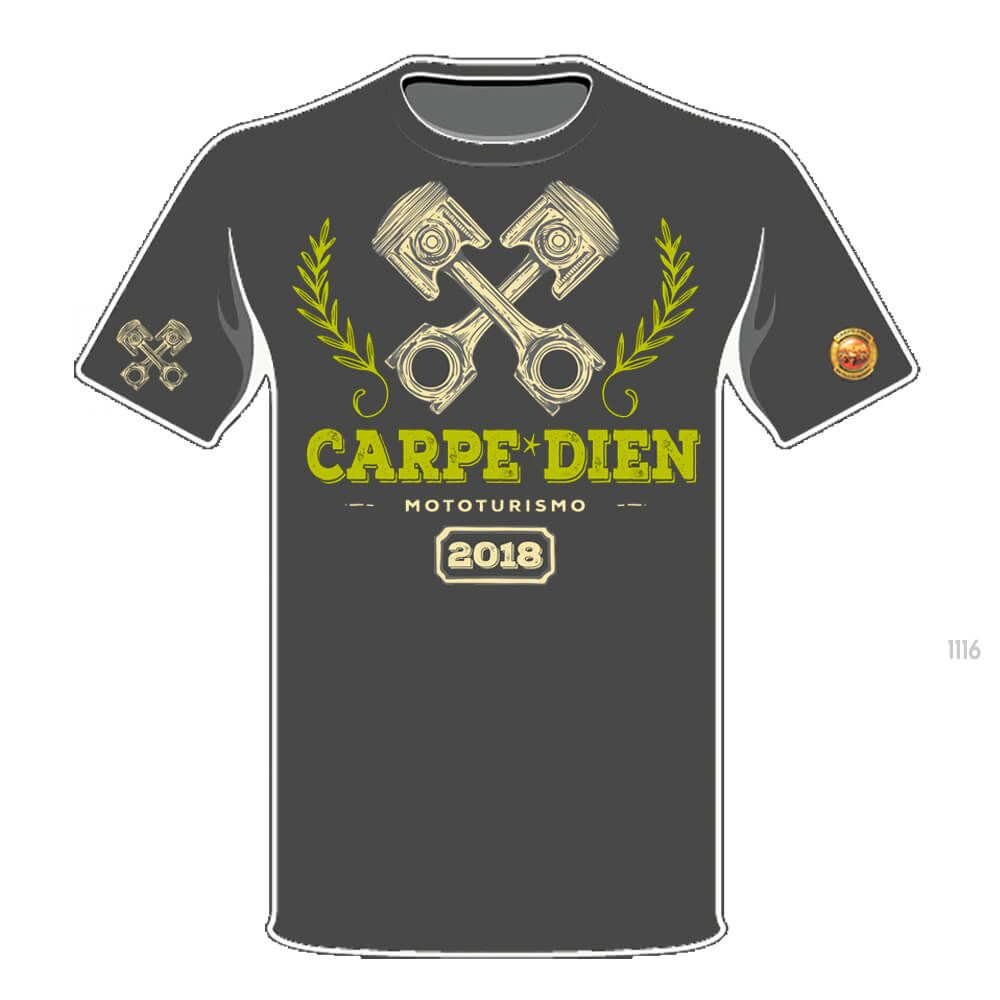 Carpe Dien - Camiseta 2678
