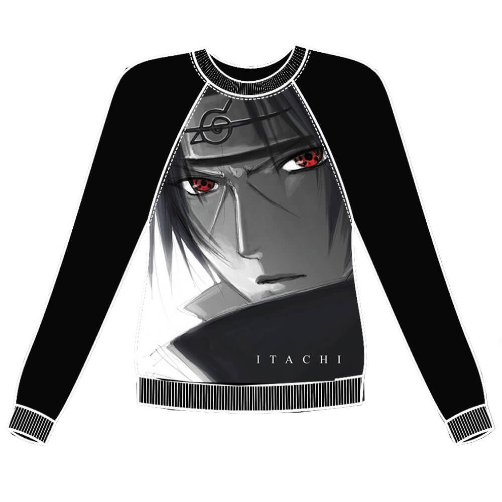 Moletom Raglan Naruto -  Itachi